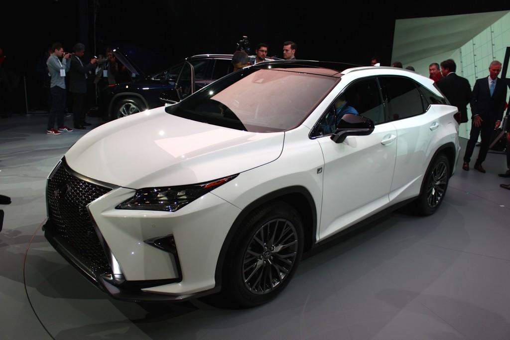 2016 Lexus RX  -  2015 NY Auto Show live photos