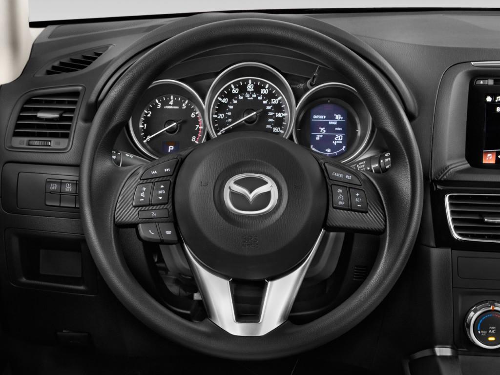 Image: 2016 Mazda CX-5 FWD 4-door Auto Sport Steering ...