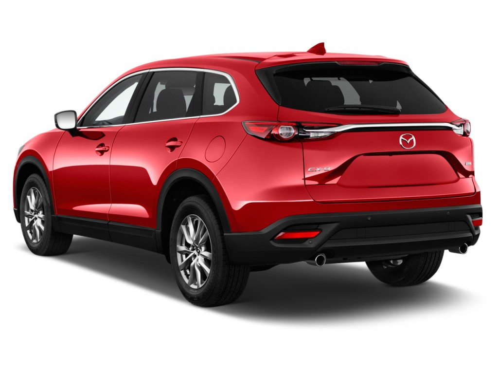 Image 2016 Mazda Cx 9 Fwd 4 Door Touring Angular Rear Exterior View Size 1024 X 768 Type