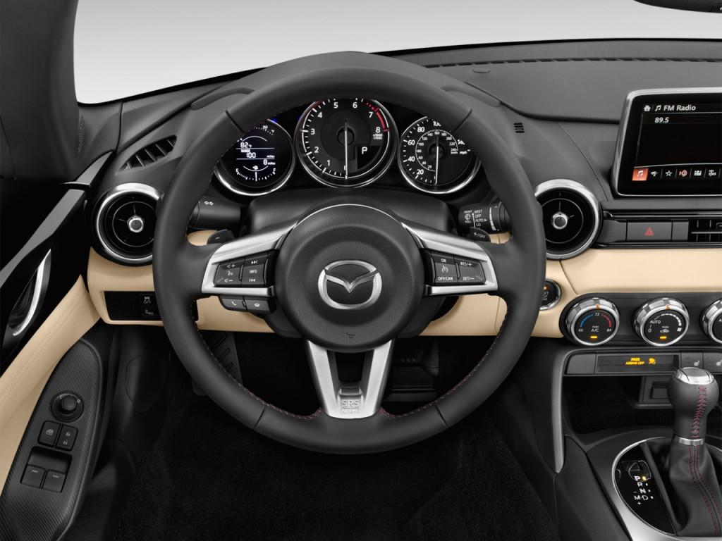 image 2016 mazda mx 5 miata 2 door convertible auto grand touring steering wheel size 1024 x. Black Bedroom Furniture Sets. Home Design Ideas