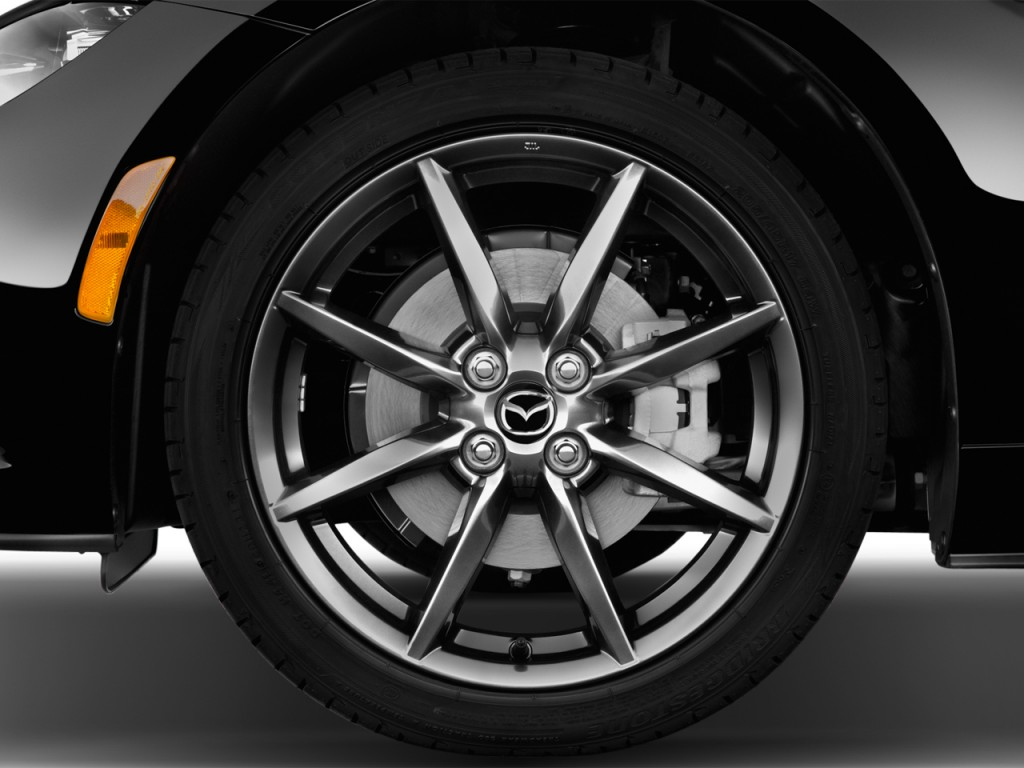 image 2016 mazda mx 5 miata 2 door convertible auto grand touring wheel cap size 1024 x 768. Black Bedroom Furniture Sets. Home Design Ideas
