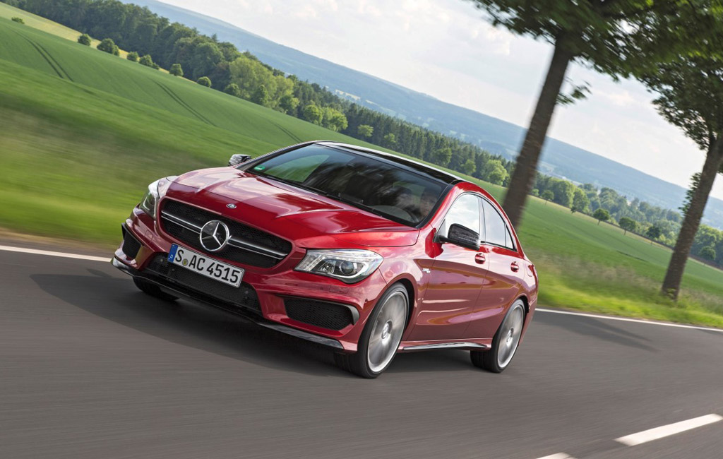 2016 Mercedes-AMG CLA45 (European spec)
