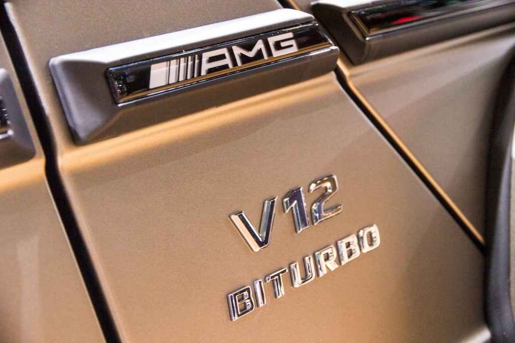 2016 Mercedes-AMG G65, 2015 New York Auto Show