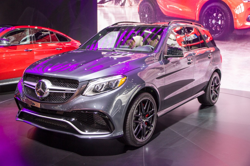 2016 Mercedes-AMG GLE63 S, 2016 New York Auto Show