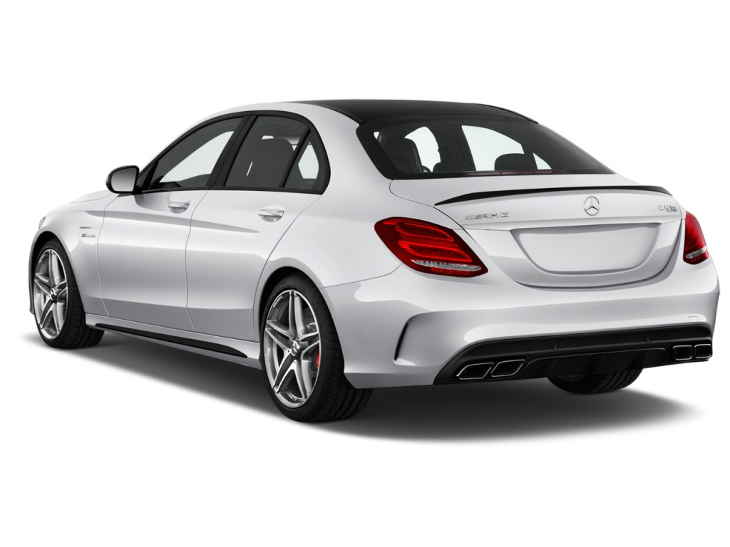 image 2016 mercedes benz c class 4 door sedan amg c63 s rwd angular rear exterior view size. Black Bedroom Furniture Sets. Home Design Ideas