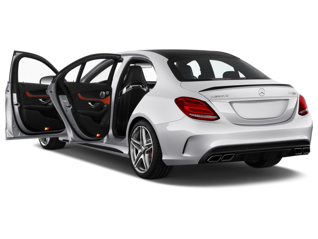 image 2016 mercedes benz c class 4 door sedan amg c63 s. Black Bedroom Furniture Sets. Home Design Ideas