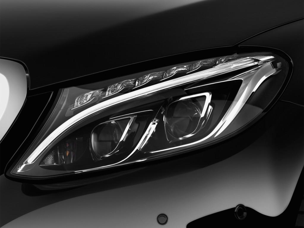Image 2016 mercedes benz c class 4 door sedan c300 luxury for Mercedes benz headlight problems