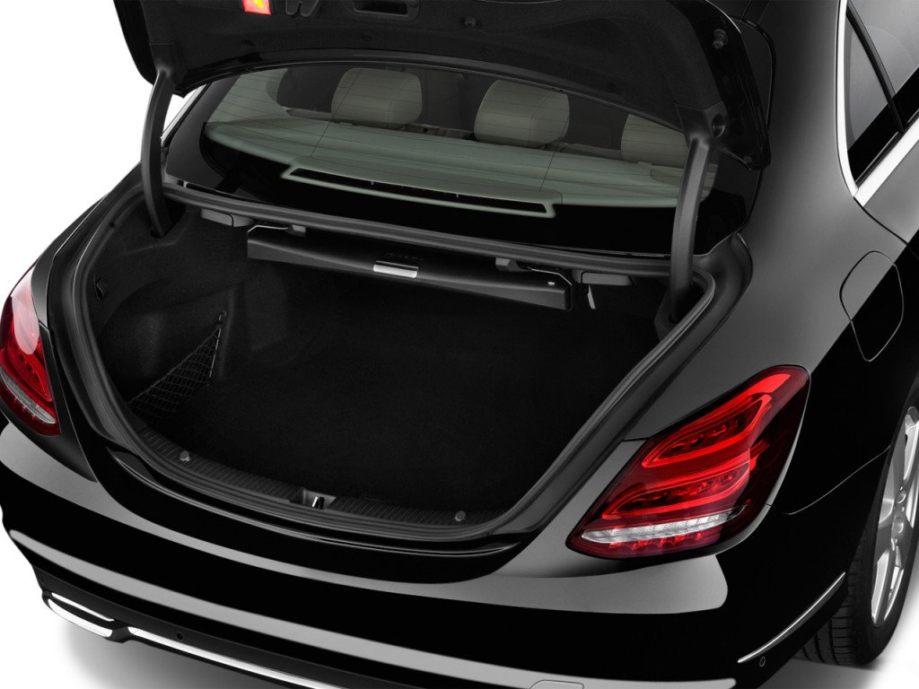 Image: 2016 Mercedes-Benz C Class 4-door Sedan C300 Luxury ...