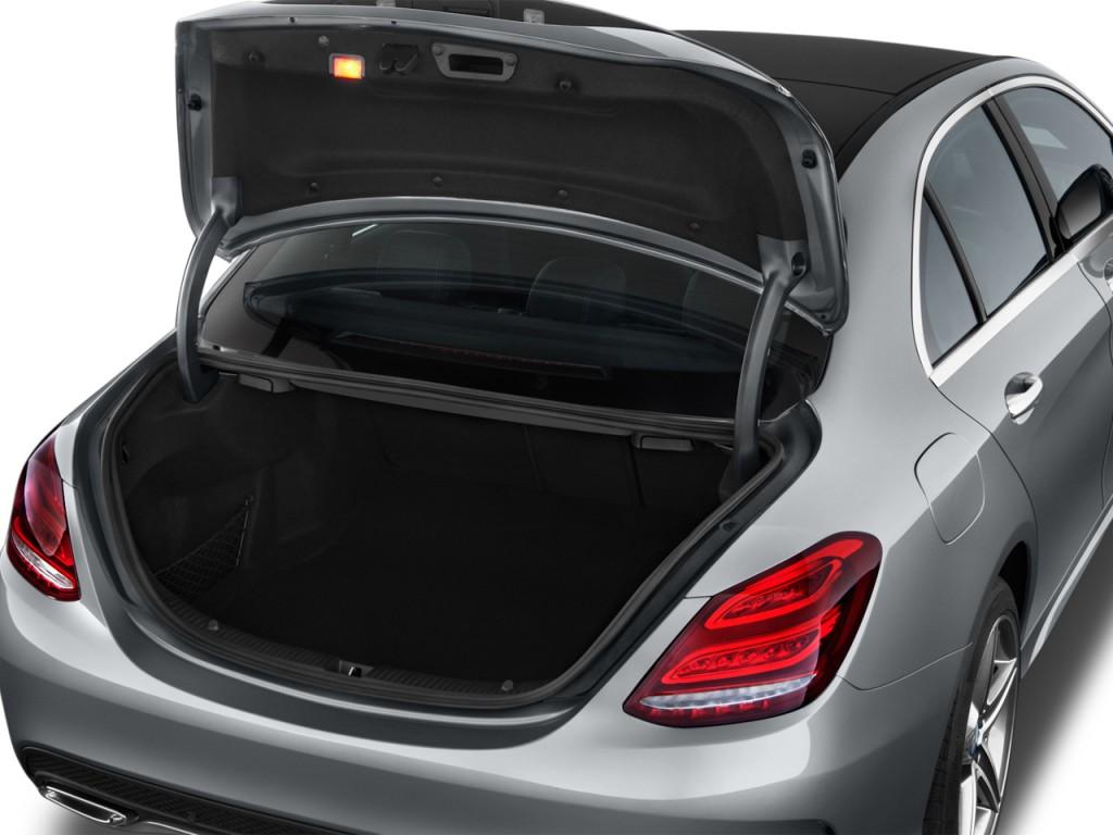 Image 2016 Mercedes Benz C Class 4 Door Sedan C300 Sport Rwd Trunk Size 1024 X 768 Type Gif