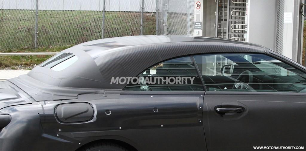 2017 Mercedes-Benz C-Class Cabriolet spy shots - Image via S. Baldauf/SB-Medien