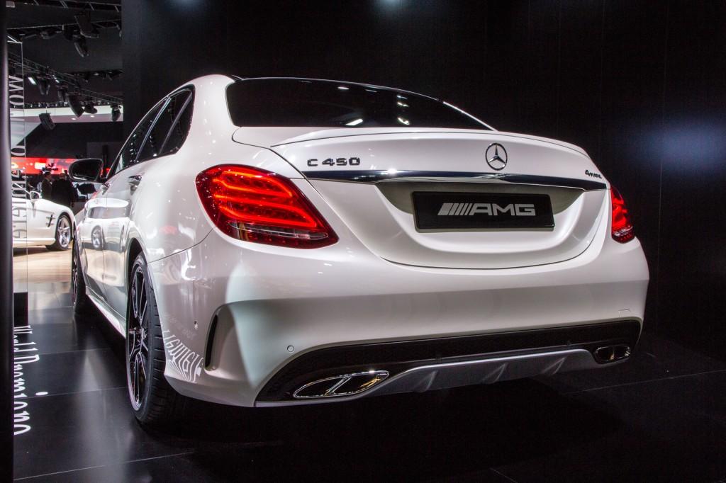 Mercedes Cars At Auto Expo 2016 Mercedes Benz At Delhi: Image: 2016 Mercedes-Benz C450 AMG 4Matic Live Photos