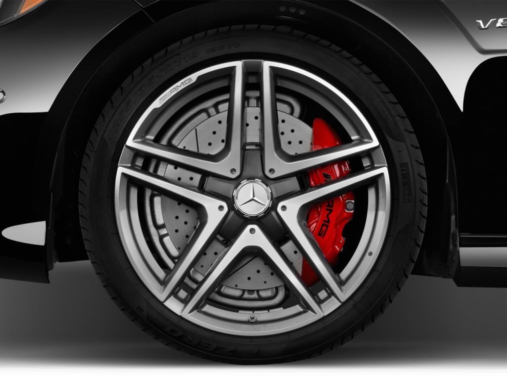 Image 2016 mercedes benz e class 4 door wagon amg e63 s for Mercedes benz e350 tire size
