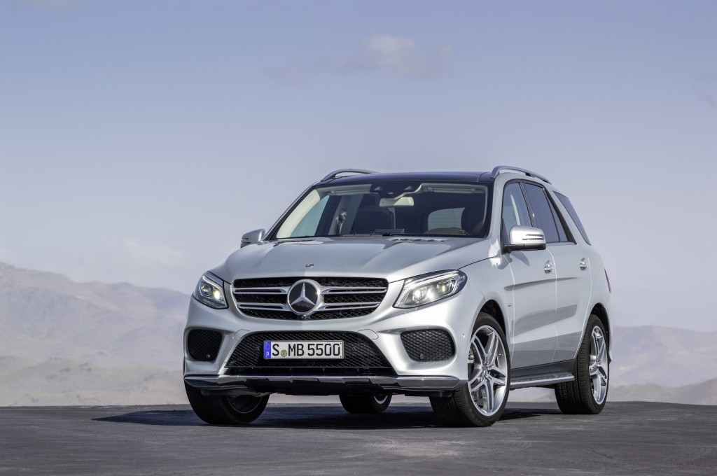 2016 Mercedes-Benz GLE550e
