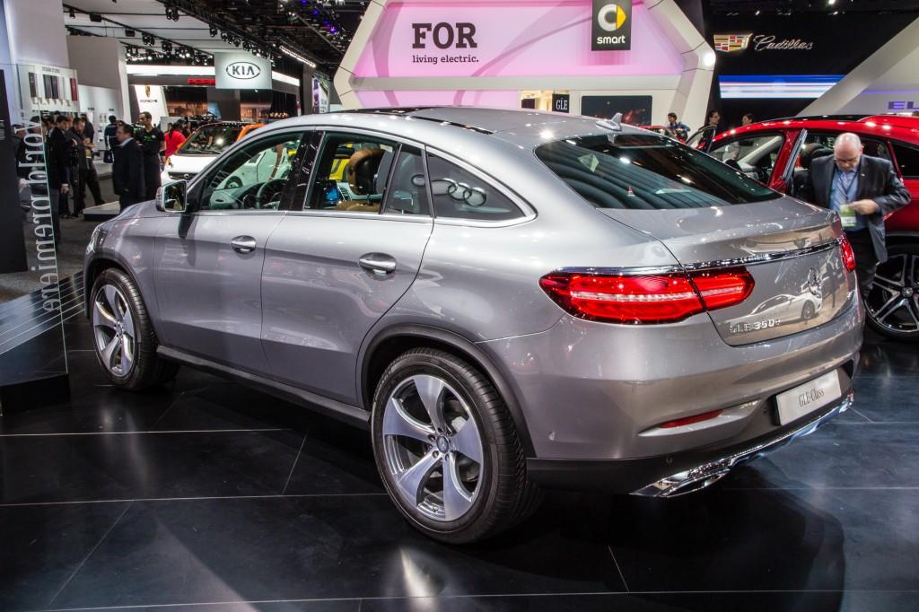 2016 Mercedes-Benz GLE Coupe live photos, 2015 Detroit Auto Show