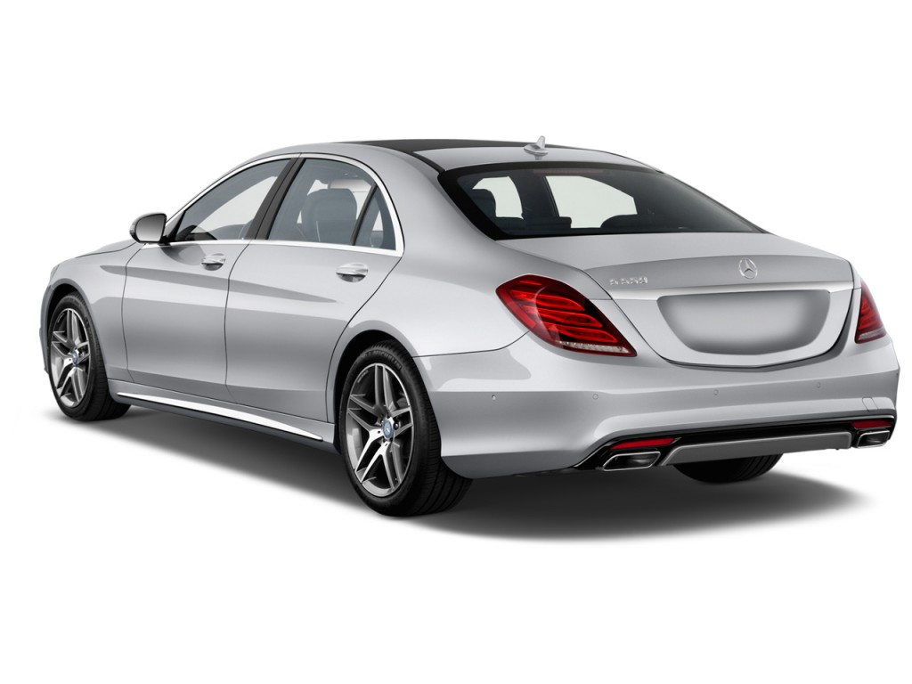 Image 2016 mercedes benz s class 4 door sedan s550 rwd for Rear exterior door