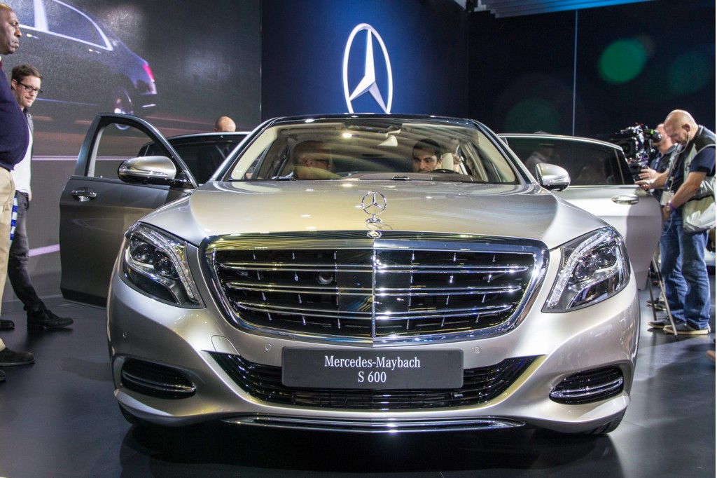 Image 2016 mercedes maybach s600 2014 los angeles auto for Mercedes benz 2014 s600