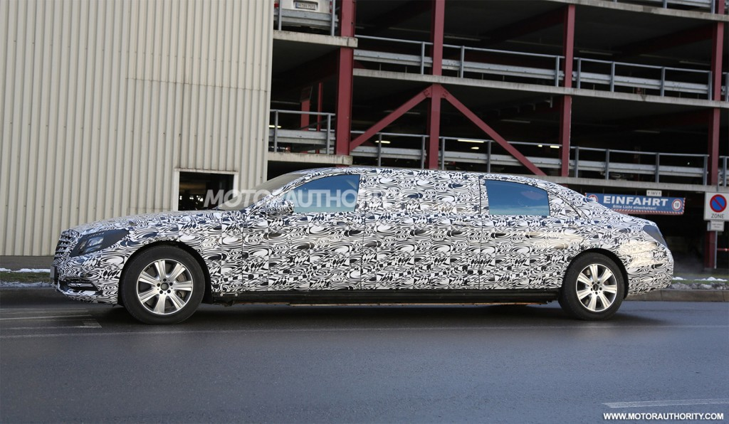 2018 maybach s600 pullman. brilliant pullman 2016 mercedesmaybach s600 pullman spy shots  image via s baldaufsb inside 2018 maybach s600 pullman