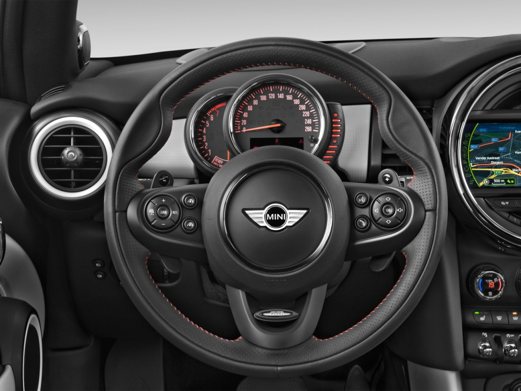 Used Mini Cooper Countryman >> Image: 2016 MINI Cooper 2-door HB S Steering Wheel, size: 1024 x 768, type: gif, posted on: July ...