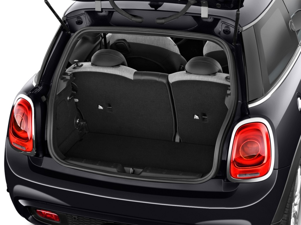 Image: 2016 MINI Cooper 2-door HB S Trunk, size: 1024 x ...