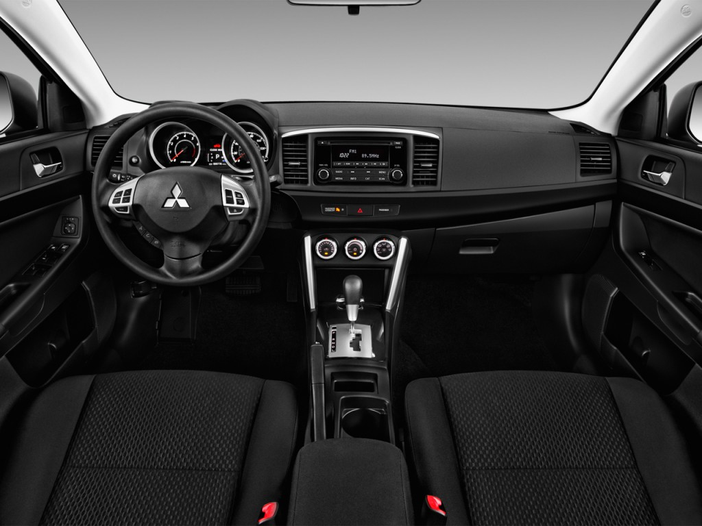 Image: 2016 Mitsubishi Lancer 4-door Sedan CVT ES FWD ...