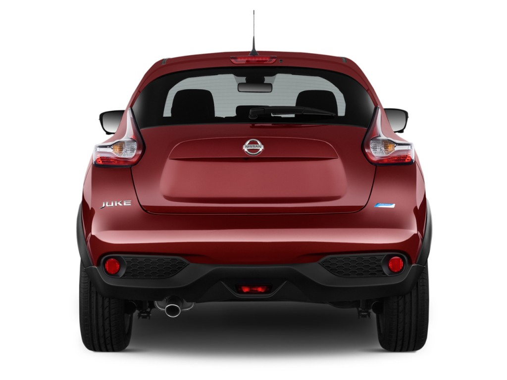 Image 2016 Nissan Juke 5dr Wagon Cvt S Fwd Rear Exterior View Size 1024 X 768 Type Gif