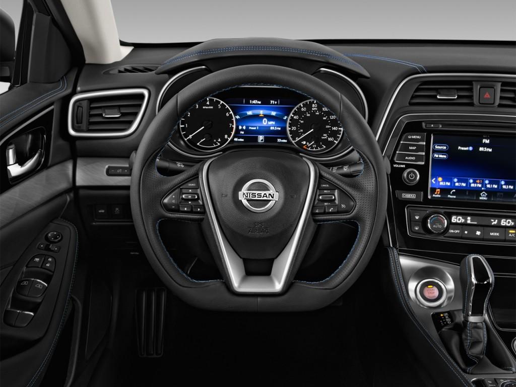Image: 2016 Nissan Maxima 4-door Sedan 3.5 S Steering Wheel, size: 1024 x 768, type: gif, posted ...