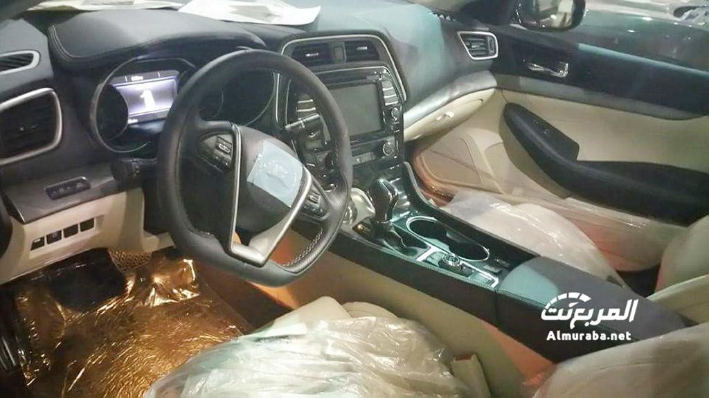 2016 Nissan Maxima's Driver-Focused Interior Leaked