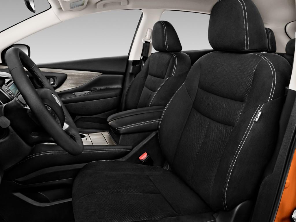 Image: 2016 Nissan Murano FWD 4-door SV Front Seats, size ...