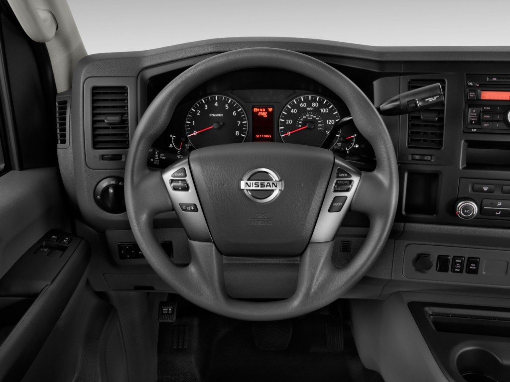 Nissan Nv 3500 For Sale >> Image: 2016 Nissan NV High Roof 3500 V8 S Steering Wheel, size: 1024 x 768, type: gif, posted on ...