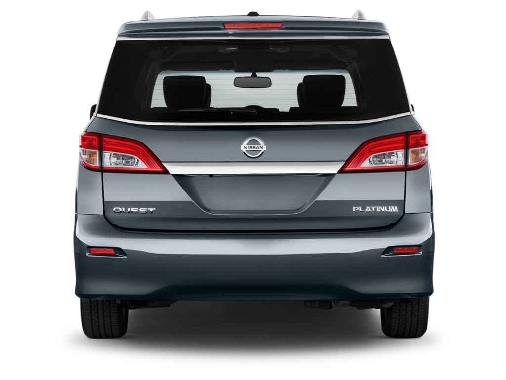 Image 2016 Nissan Quest 4 Door Platinum Rear Exterior