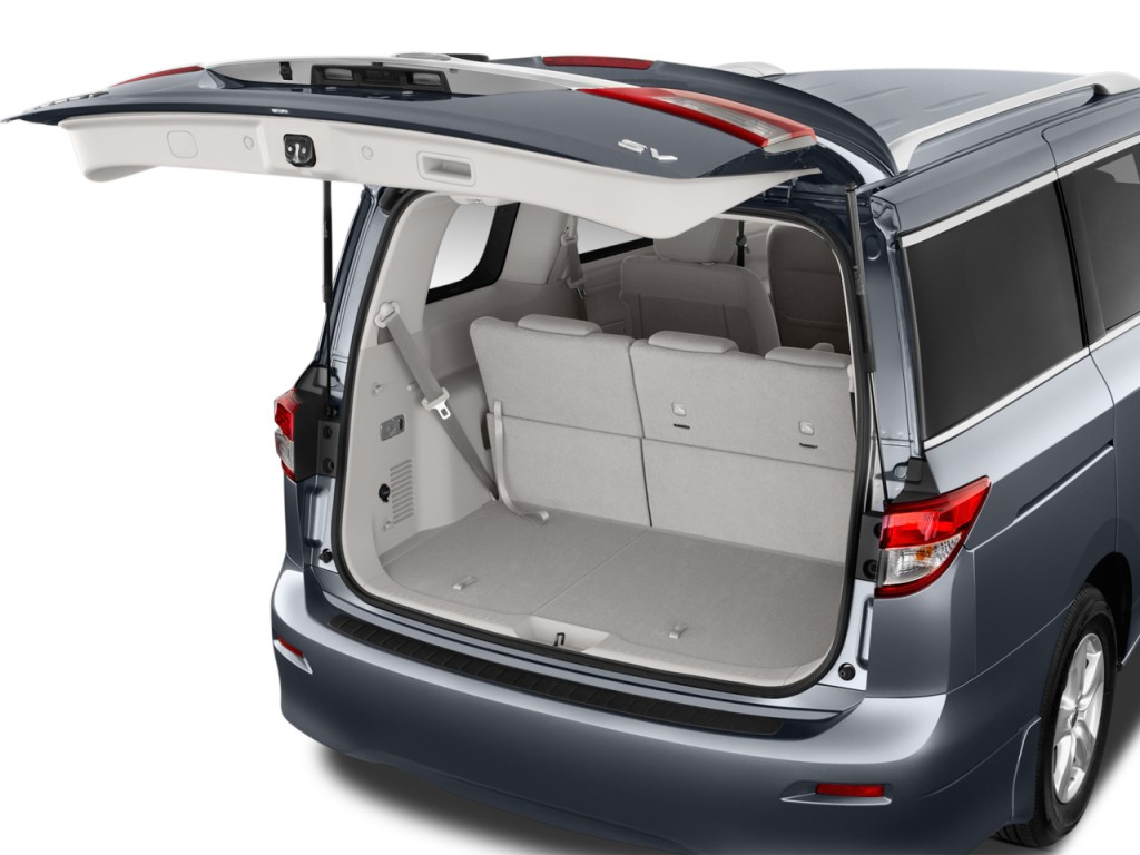 Image: 2016 Nissan Quest 4-door SV Trunk, size: 1024 x 768 ...