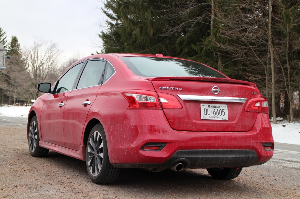 Image: 2016 Nissan Sentra 1.8 SR in upstate New York ...