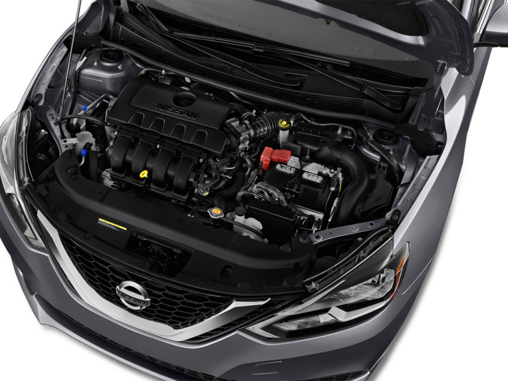Image: 2016 Nissan Sentra 4-door Sedan I4 CVT SV Engine ...