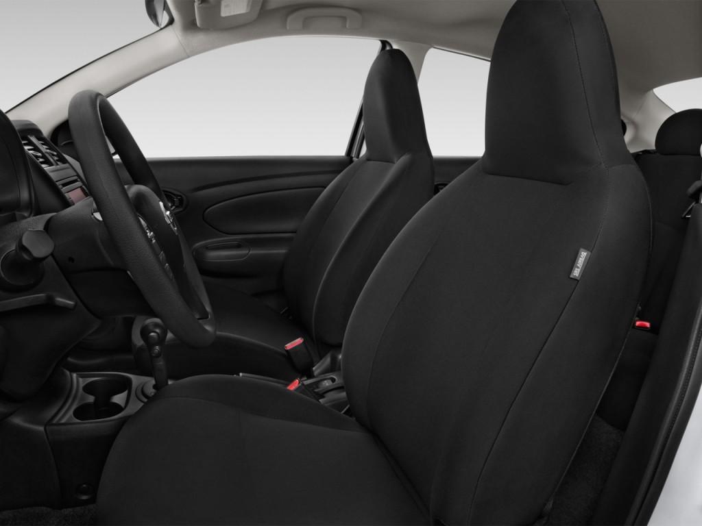 image 2016 nissan versa 4 door sedan cvt 1 6 sv front seats size 1024 x 768 type gif. Black Bedroom Furniture Sets. Home Design Ideas