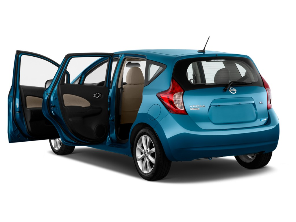 image 2016 nissan versa note 5dr hb cvt 1 6 sl open doors. Black Bedroom Furniture Sets. Home Design Ideas