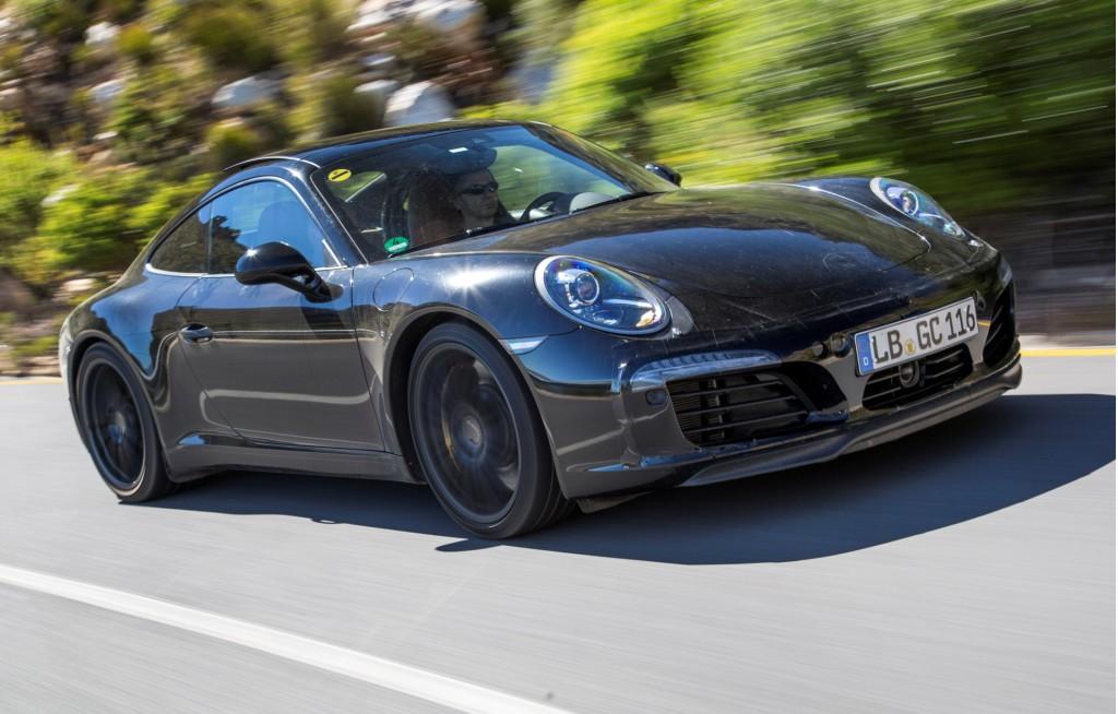 2016 Porsche 911 Carrera prototype