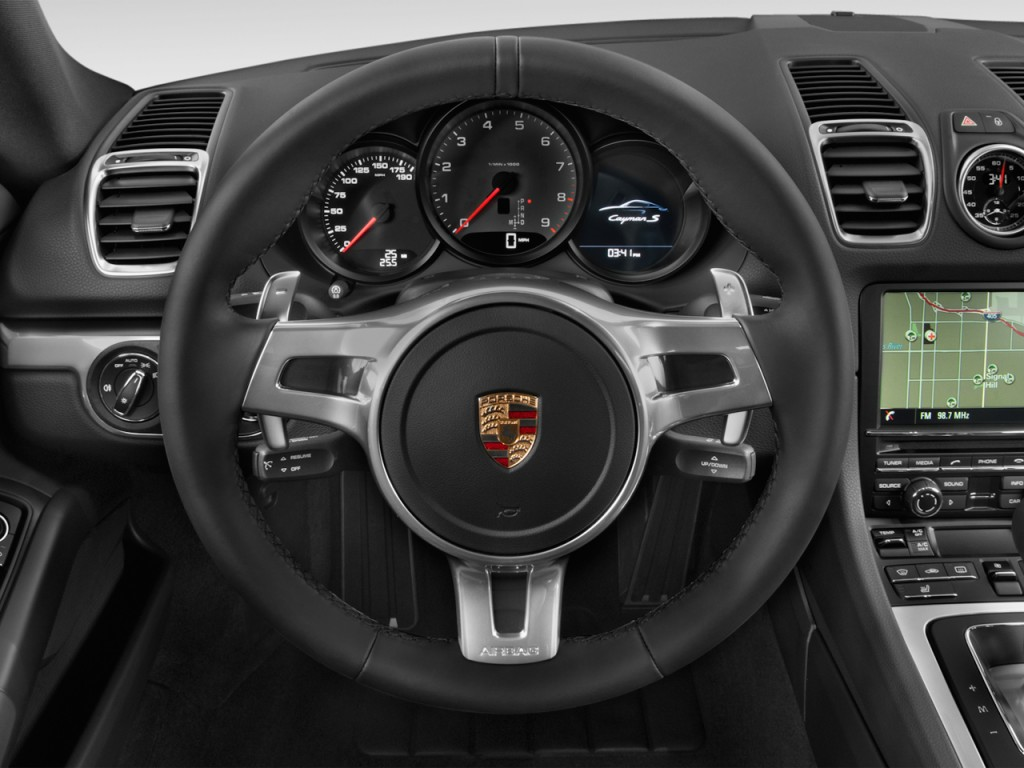 Image 2016 Porsche Cayman 2 Door Coupe S Steering Wheel