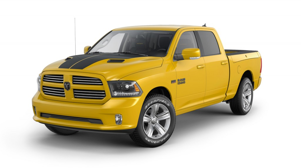 2016 Ram 1500 Stinger Yellow Sport