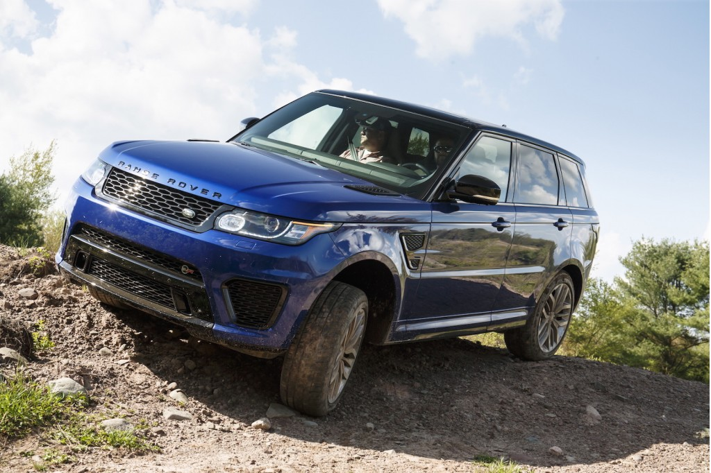 2016 Range Rover Sport SVR first drive