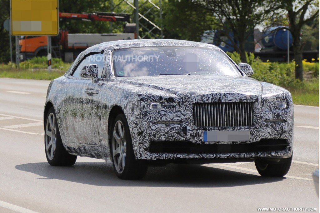 Wraith Convertible To Be Known As The Rolls Royce Dawn
