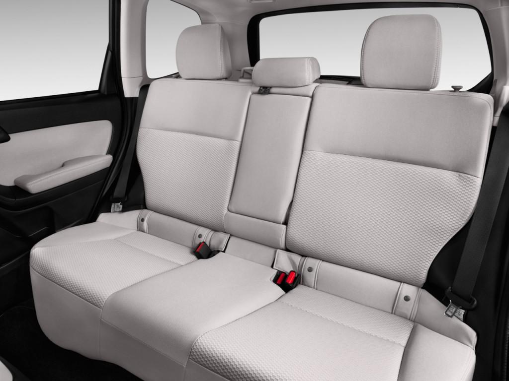 Image: 2016 Subaru Forester 4-door CVT 2.5i PZEV Rear ...