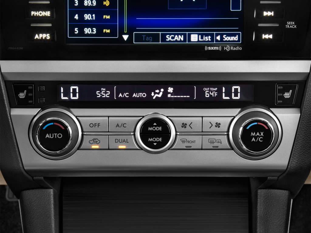 image 2016 subaru legacy 4 door sedan premium temperature controls size 1024 x 768 type. Black Bedroom Furniture Sets. Home Design Ideas