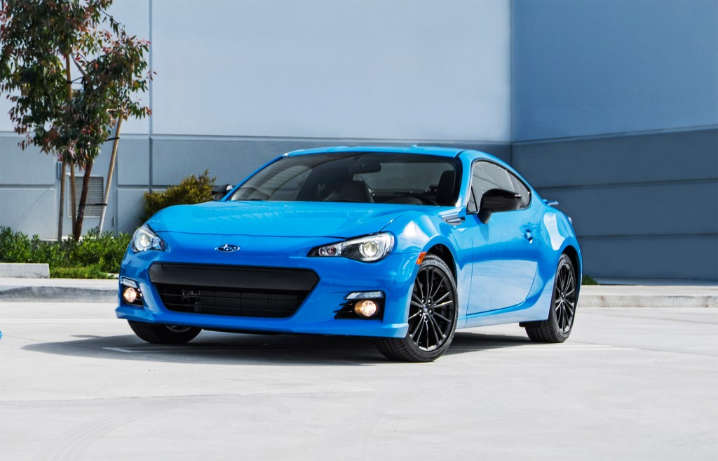2016 Subaru Brz Series Hyperblue