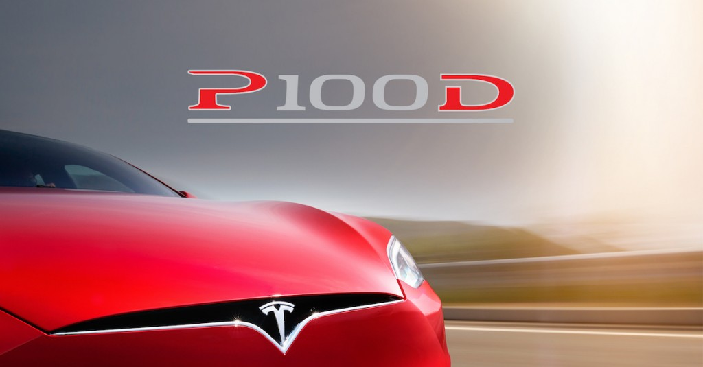 Tesla Model S P100D gets 0.1 second faster with software update
