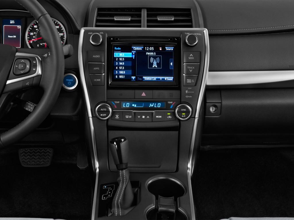 Image 2016 Toyota Camry Hybrid 4 Door Sedan Se Gs