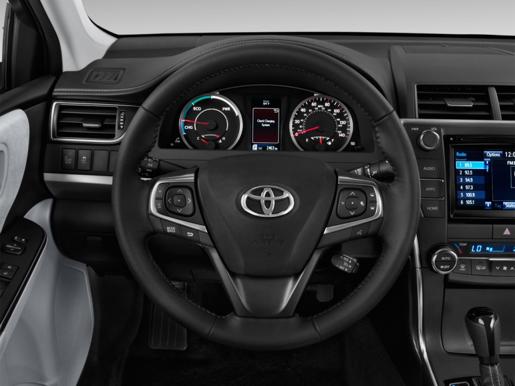 image 2016 toyota camry hybrid 4 door sedan se gs steering wheel size 1024 x 768 type gif. Black Bedroom Furniture Sets. Home Design Ideas