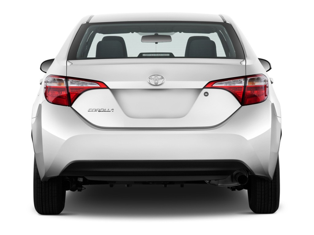 Image: 2016 Toyota Corolla 4-door Sedan Auto L (GS) Rear ...