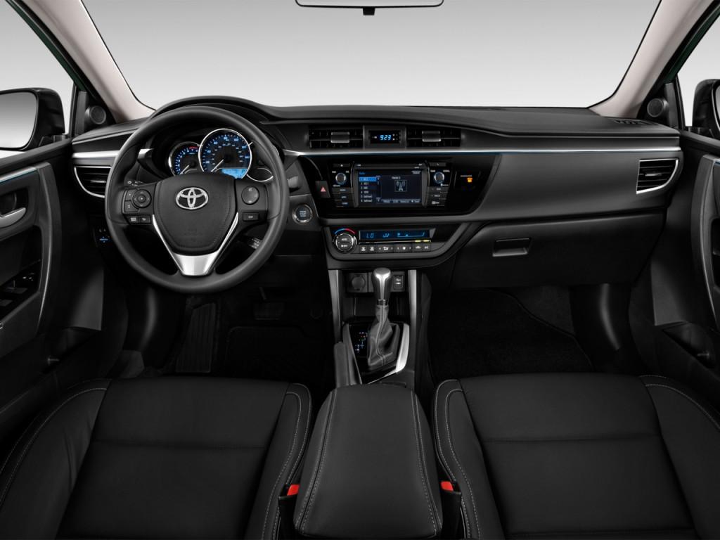 Toyota Corolla Door Sedan Cvt Le Eco Natl Dashboard L
