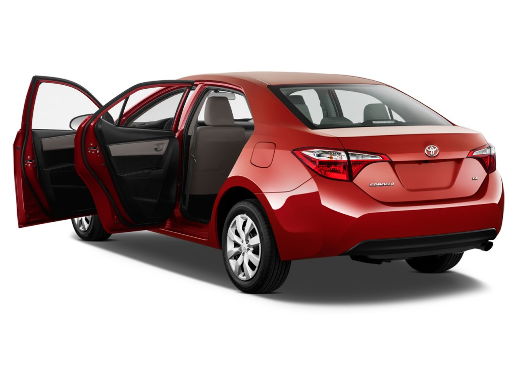 Image 2016 Toyota Corolla 4 Door Sedan Cvt Le Gs Open