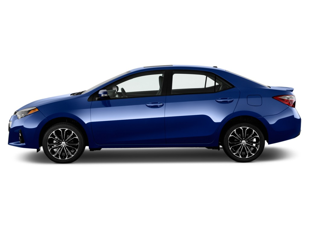 Image: 2016 Toyota Corolla 4-door Sedan CVT S (GS) Side ...